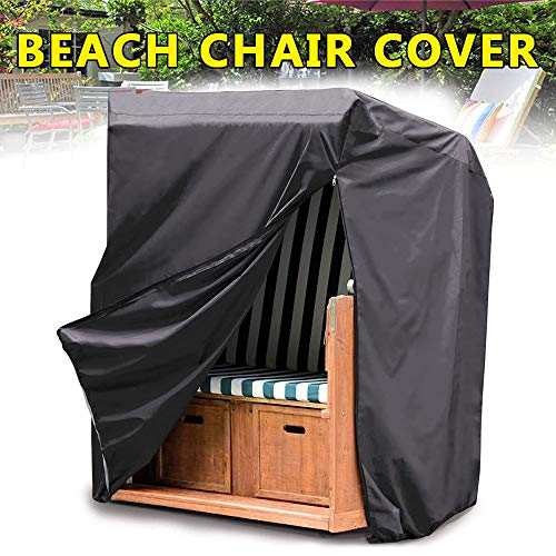 You's Auto Beach Chair Cover,Deluxe Protective Cover for Beach Chair,210D Oxford Fabric Rip-Proof,UV Protection for Beach Basket-135 * 170 * 105cm