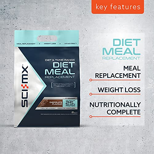 SCI-MX Diet Meal Replacement Protein Powder Meal Shake, Chocolate, 2kg