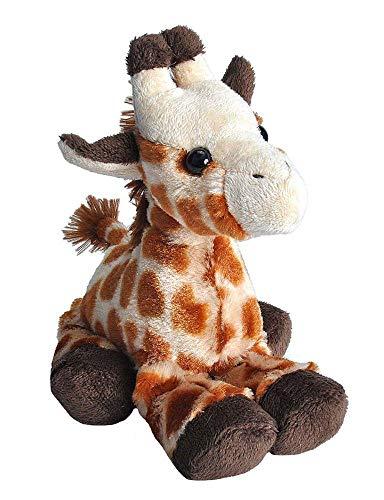 Wild Republic 14885 Hug'ems Plüschtier, Kuscheltier, Giraffe 18cm