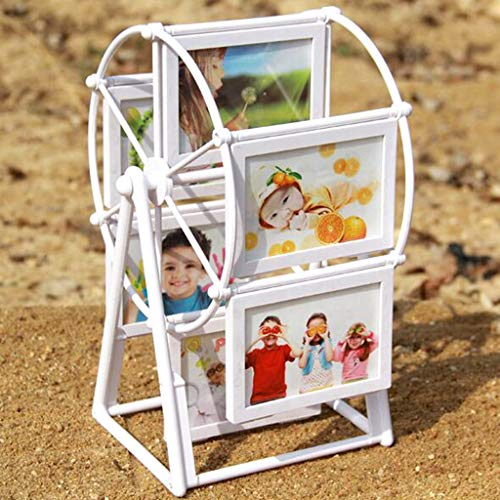Photo frame Rotating 3'' Picture Photo Frame Windmill Combination Ferris Wheel Wedding Picture Detachable Photograph Photo Frame Home Decor Photo frame
