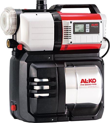 AL-KO Hauswasserwerke HW 5000 FMS Premium (1300 W Motorleistung, 4500 l/h max. Fördermenge, 50 m max. Förderhöhe, 20 l Druckkessel)