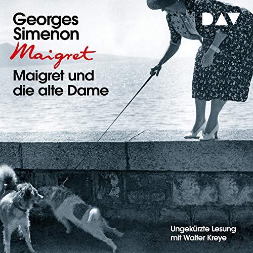 Maigret und die alte Dame cover art