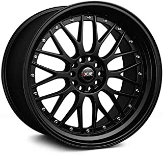 XXR Wheels 521 Black Wheel with Painted Finish (18 x 8.5 inches /5 x 100 mm, 35 mm Offset)