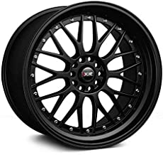 XXR Wheels 521 Black Wheel with Painted Finish (18 x 10. inches /5 x 114 mm, 25 mm Offset)