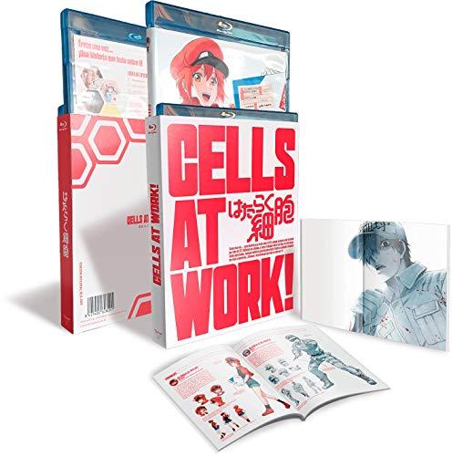 Cells At Work! Volumenes. 1 +2 Serie Completa BD [Blu-ray]
