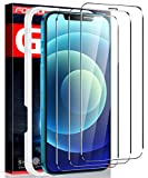 Fotbor for iPhone 12 Pro Max Screen Protector, 9H Tempered Glass Screen Protector for iPhone 12 Pro Max [Upgraded Shatterproof] Full Coverage HD Clear Film for Apple iPhone 12 Pro Max 6.7Inch - 3 Pack