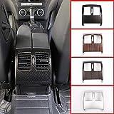 MYlnb Para Mercedes Benz Clase C W204 2008-2013, ABS Coche Aire Acondicionado Trasero Ventilación Marco Decorativo Accesorios de Ajuste