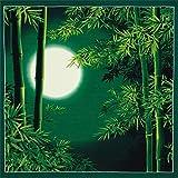 Furoshiki Wickeltuch Japanischer Sommer Bambus und Mond