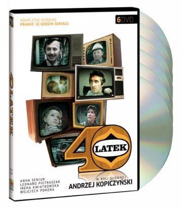 Czterdziestolatek (40-latek) - 1973 TV miniseries on 6-DVD (Region 2, PAL)