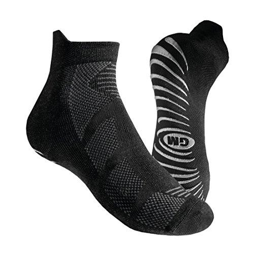 Calze GM Sport Fitness L+r Homme, Noir, FR : Chaussettes : 39-42 (Taille Fabricant : 38-40)