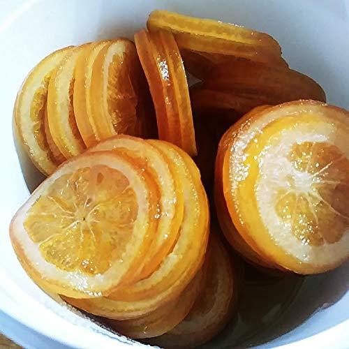 Fruta Escarchada Roscón Naranja Discos 1 Kg - Fruta Confitada en Formato de Cubo