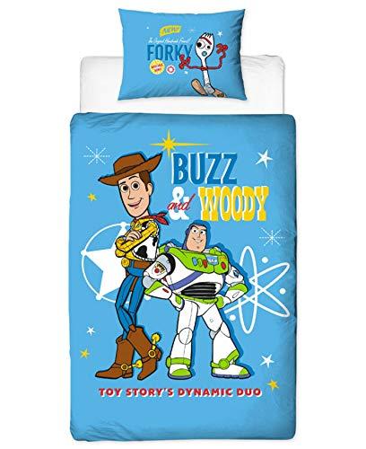 9778 ディズニー トイストーリー Disney Toystory ベビー用 掛け布団カバー+枕カバー セット [並行輸入品]