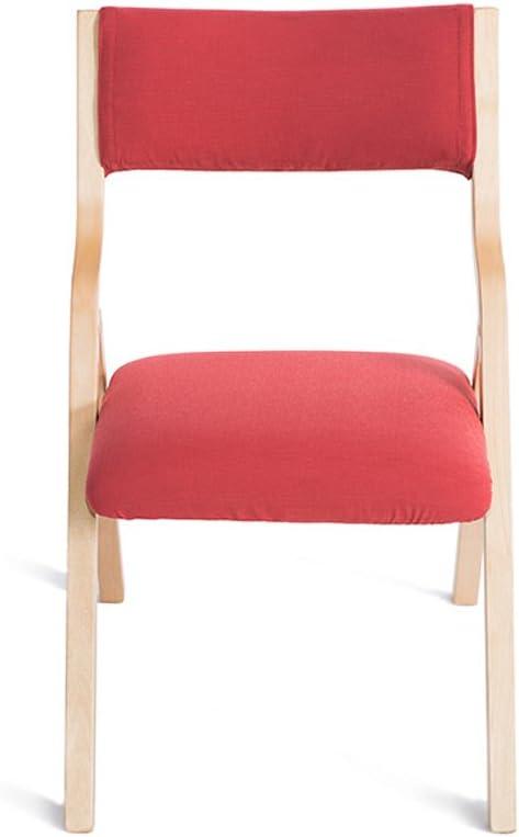 HXF- Chaise de Salle à Manger en Bois Massif Chaise de Maison Minimaliste Moderne Durable (Color : C) C