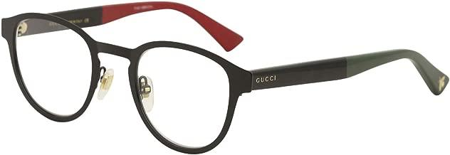 Gucci GG0161O Metal Panthos Style Eyeglasses 2 Sizes