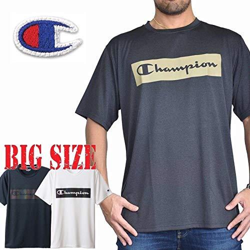 [チャンピオン] C VAPOR TRAINING 半袖Tシャツ 大きいサイズ メンズ CH-005-Q 3L ホワイト