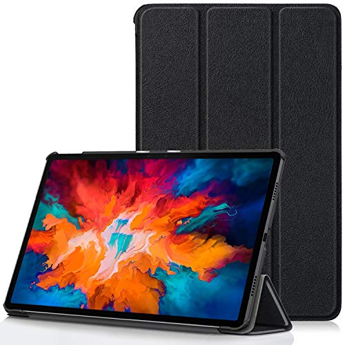 TTVie Case for Lenovo Tab P11 Pro - Ultra Slim Lightweight Smart Shell Stand Cover with Auto Wake/Sleep Function for Lenovo Tab P11 Pro 11.5 Inch Tablet 2020 Release, Black
