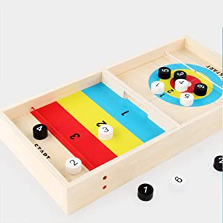 HankykyTable Desktop Battle 2 in 1 Ice Hockey Game,Funny Classic Battle Board Games for Ages 7 and Up Adults or Kids, Sports Board Game, Ideal for Video Group Chats and Social Activities