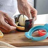 shuxuanltd Taglia Uova Sode Taglia Uovo Sodo Egg Slicer Cutter 3 in 1 Bollito Uovo Affettatrice Piercing all'uovo Gadget da Cucina E Strumenti Uovo sodo Cutter