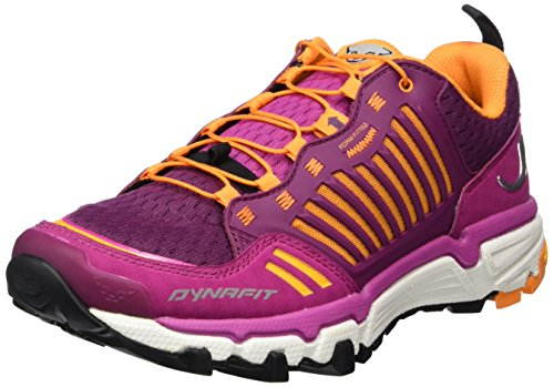 Dynafit WS Feline Ultra, Zapatillas de Running para Asfalto Mujer, Rosa-Pink (Fuchsia/Glory 4504), 36.5 EU