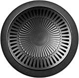 Parrilla/barbacoa para hornillo de gas; ideal para camping - Placa adaptador para fuegos de gas - B12