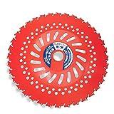 草刈 草刈機 草刈り機 草刈り 刃 日本製レッド刈払チップソー255×36P 2枚