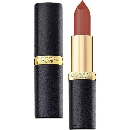 L'Oreal Paris Color Riche Moist Matte Lipstick, 202 Maple Mocha, 3.7g