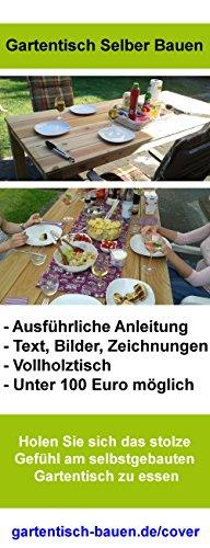 Gartentisch selber bauen - Bauanleitung - So geht's: Gartentisch für unter 100 Euro selber bauen