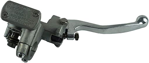 Color : Negro Motocicleta hidr/áulica freno delantero cilindro maestro palanca para Honda CR 80 85 125 250 500 CRF Accesorios de motos