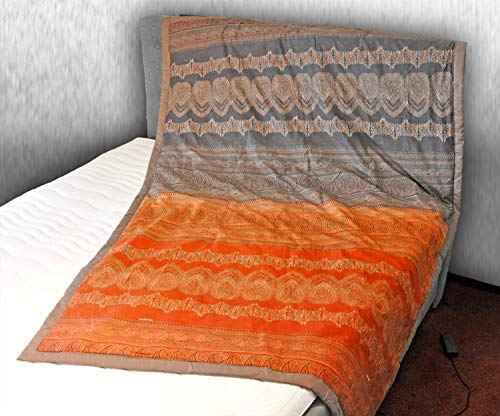 Bassetti Plaid | BRUNELLESCHI O1 Orange - 155 x 220 cm
