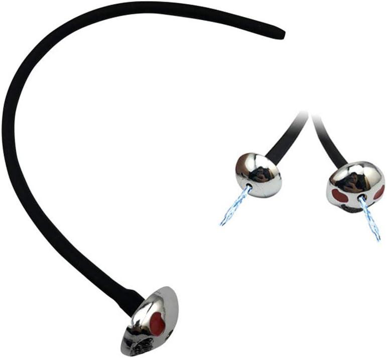 LSG-NDZ-102-Silicone urethral Plug Beads urethral Sound Wave Probe Urinary Tube Ur/èthra Male Masturbation Stick to Relieve Stress