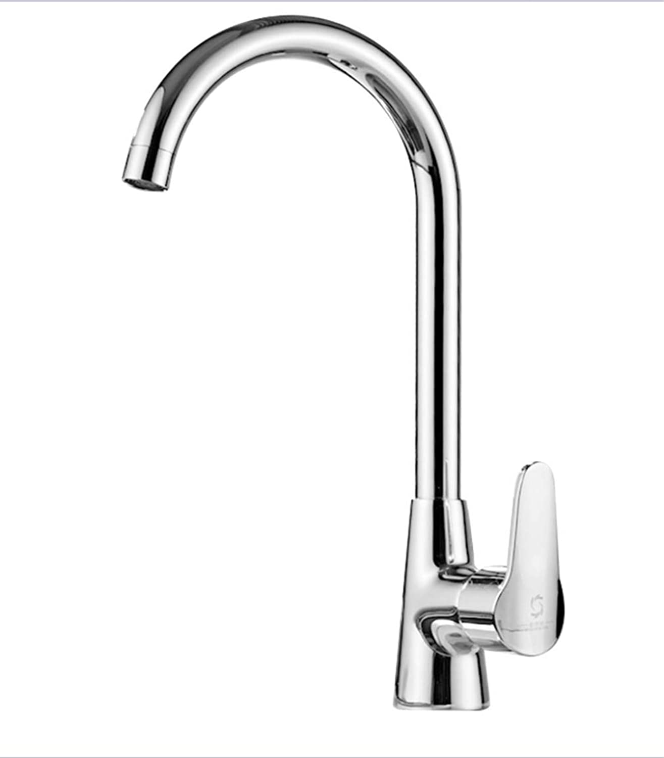 Faucet Mone Spout Basincool and Hot Water Faucet in Kitchen, Copper Dishwasher, Dishwasher, Sink, Water Faucet, Single Cold, Switchable Splash-Proof Faucet