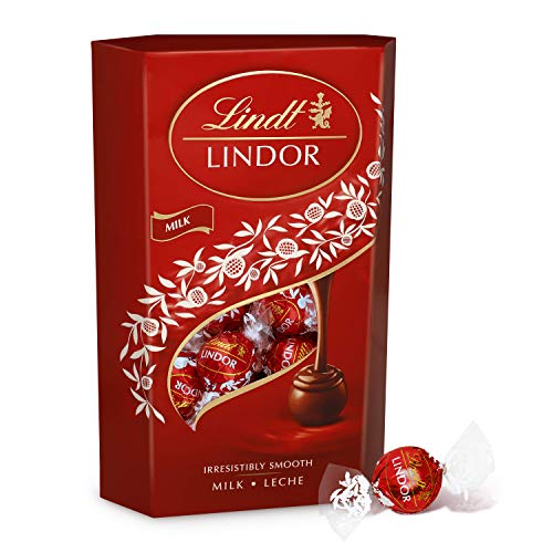 Lindt Lindor Bombones de Chocolate con Leche, 337g