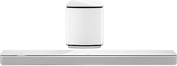 Bose 3.1 Home Theater Set (blanco): Barra de sonido 700 + Bass 700
