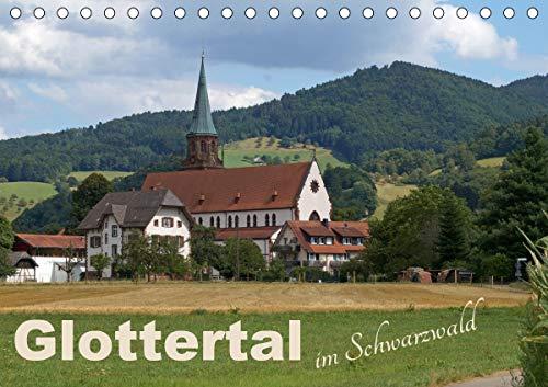 Glottertal im Schwarzwald (Tischkalender 2021 DIN A5 quer)