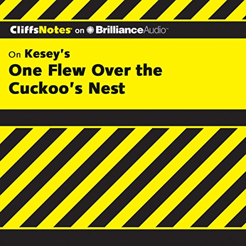 One Flew Over the Cuckoo's Nest: CliffsNotes audiobook cover art