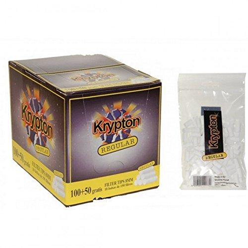 2700 Filtros Krypton regular 8mm (18 bolsas de 150 filtros)
