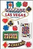Paper House Productions STDM-0029E 3D Cardstock Stickers, Las Vegas (3-Pack)
