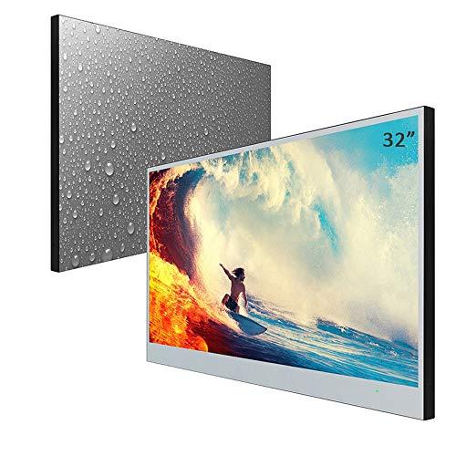 Soulaca - Specchio Smart TV da 22 pollici, IP66, impermeabile, per bagno, hotel, con telecomando (modello 2019)