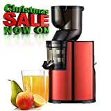 BuySevenSide best juicer Extractor for Low speed extraction produces up to 98% fresh juice with No...