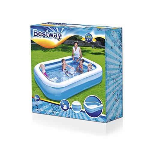 Bestway Family Pool Blue Rectangular - 4