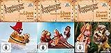 Augsburger Puppenkiste Der Löwe ist los + Kommt ein Löwe geflogen + Gut gebrüllt, Löwe! (3 DVDs)