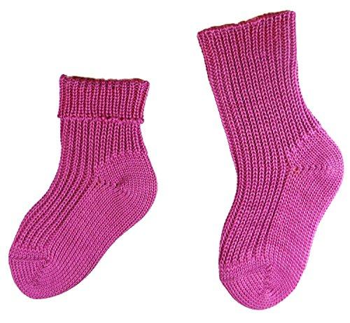 Shimasocks Baby Öko Socken, KbT Wolle, 100prozent Natur, Größe:13/14 bzw. 50/56, Farben alle:krokus