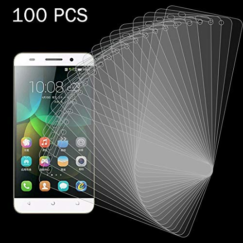 YDJX AYSMG 100 PCS for Huawei Honor 4C 0.26mm 9H Dureza de la Superficie 2.5D Película de Pantalla de Vidrio Templado a Prueba de explosiones