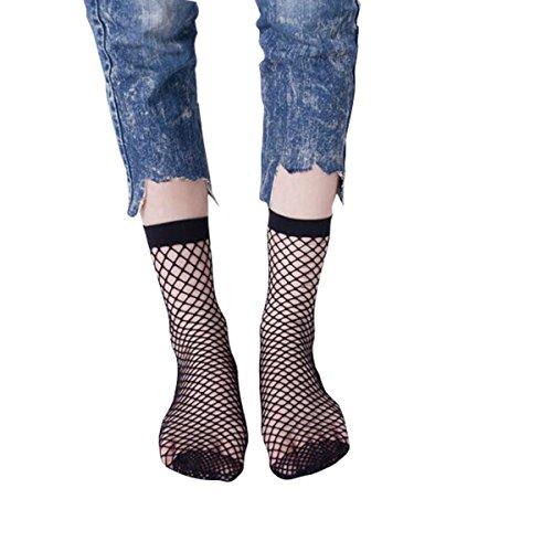 Libella 2 Paar Damen Netz Socken Strumpfhose ein echter Hingucker Strumpfhosen-Trend 27221