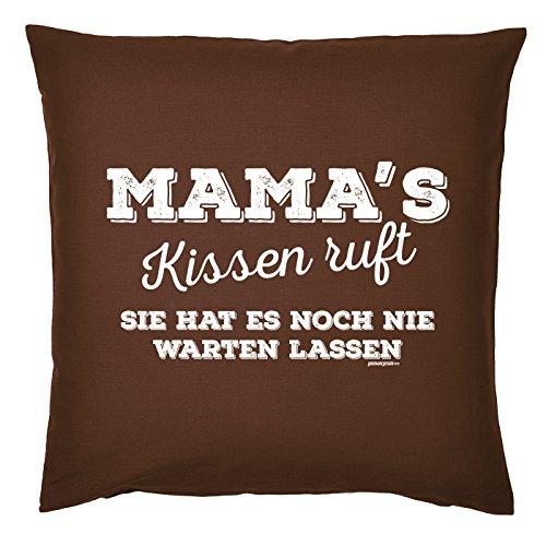 Art & Détail T-shirt Coussin : Maman Mom Fête des Mères – Mamas RUFT vous n'a jamais faire attendre – Comme Présent
