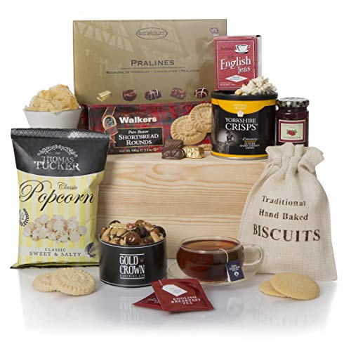 Teatime Delights Hamper, Luxury Food & Afternoon Tea Gift Hampers, Hamper and Gift Baskets