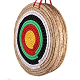Outdoor-shooter Bogen Bogenschießen Ziel 50x50x10 cm Traditionelles handgemachtes massives Stroh rundes Ziel für Langbogen Recurve Bow Compound Bogenschießen