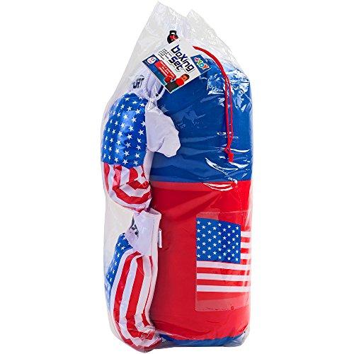 guanti boxe bambino W TOY- Sacco da Boxe con Guantoni