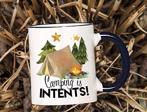 Camping Koffiemok, Camping is Intents Mok, Camping is in Tents,Camping Cadeau,Campfire Koffiemok, Kampvuur Mok, Outdoors Mok, Thanksgiving Day Cadeaus,Kerst Cadeau-11 oz