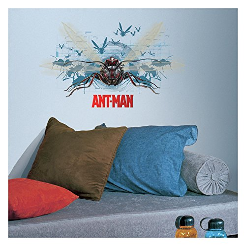 RoomMates Stickers Géant Ant-Man et Antoinette Marvel